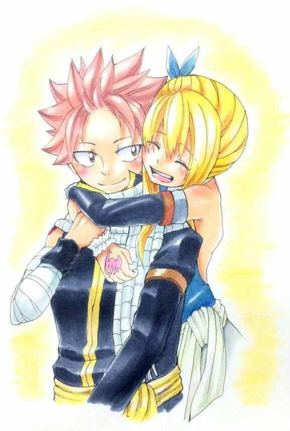 2709 best anime fairy tail images on pinterest fairies fairy tail anime and fairytale - Fairy tail lucy et natsu ...