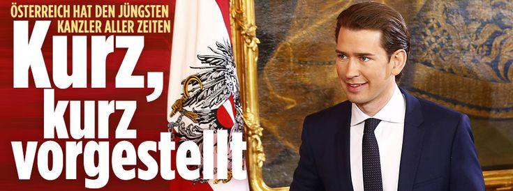 Mit Sebastian Kurz (31) hat Österreich den jüngsten Kanzler aller Zeiten. Wer ist der neue starke Mann in Wien?