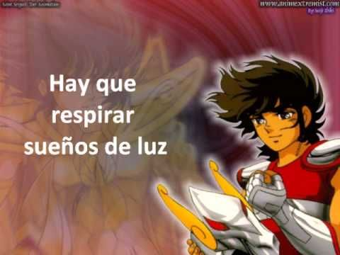 """Los Caballeros del Zodiaco- Ending 1 full latino- """"Blue forever"""" by: Mau..."""