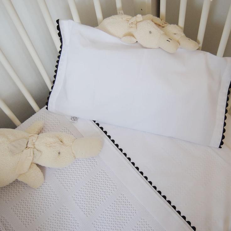 Nuestras bonitas sábanas para cuna