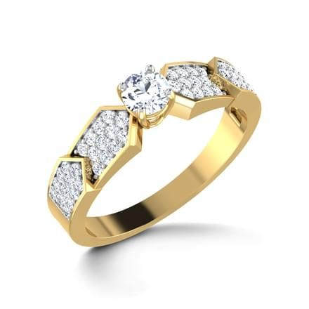 Glorious Solitaire Ring