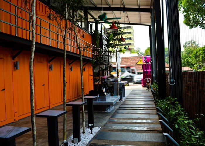 Photo gallery container hotel kuala lumpur hostel