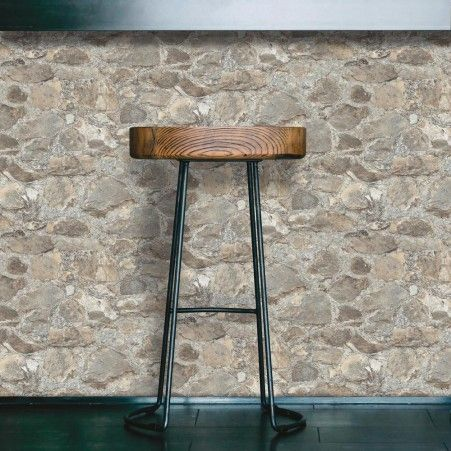 Weathered Stone Peel and Stick Removable Wallpaper and Decor