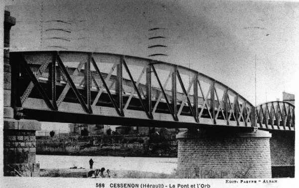 """Le pont """"éphémère"""" !"""