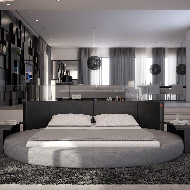 Rectangular Bedroom Design Black Leather Bedroom Suite Bedrooms For Teenage Girls Tumblr Toddler Boy Bedroom Wallpaper: 17 Best Ideas About Round Beds On Pinterest