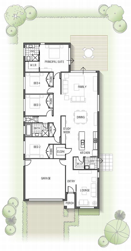 56 best Plan maison images on Pinterest House blueprints, Small