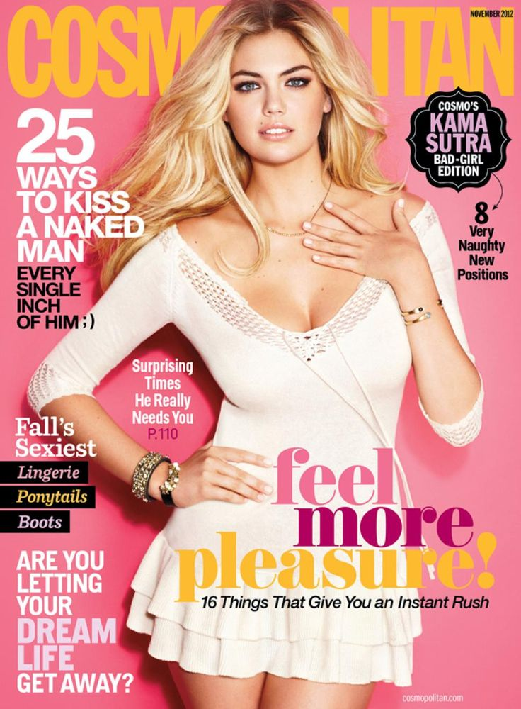 Kate Upton en couverture du magazine Cosmopolitan - Novembre 2012 / / #cover #kateupton #cosmopolitanmagazine #model #photoshoot #girls #sexy #revue #journal #revista #rivista #portada #hot #femme #nude #woman