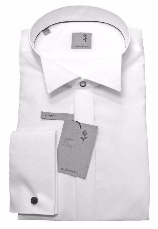 SEIDENSTICKER Hemd Slim Fit /Tailored Fit-. Hemd in der Taille von Naht zu Naht messen. SMOKINGHEMD mit Kläppchen-Kragen. Maßtabelle in cm. für Passform-schmaler Schnitt-Slim Fit/Tailored Fit-. Kragenweite cm: 37/38 39/40 41/42 43/44 45/46. | eBay!