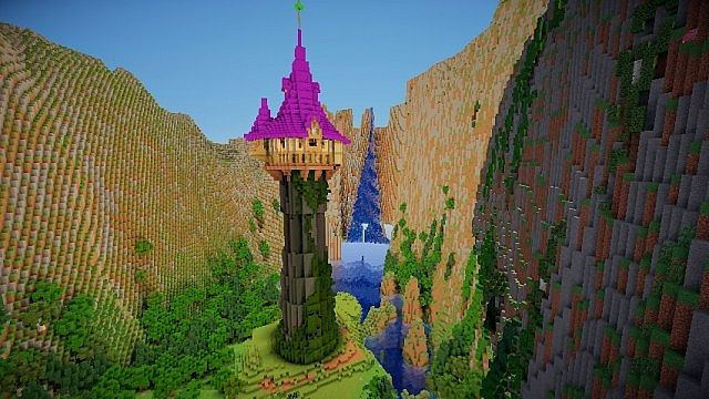 Tangled: Rapunzel's Tower Minecraft Project