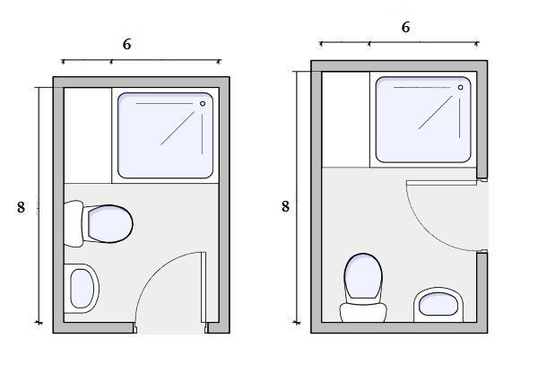 6x8 Bathroom Layout 6 8 Bathroom Design Furniture And Color For Small Space 6x8ba Small Bathroom Floor Plans Bathroom Design Layout Small Bathroom Layout