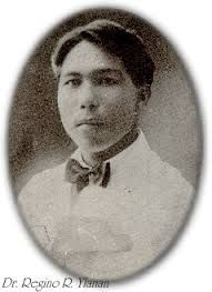 Regino Ylanan  Regino R. Ylanan (7 September 1889 – 1963) was a Filipino athlete, physician, sports administrator, physical educator, and sports historian. He rose to fame with three gold medals in track and field at the 1913 Far Eastern Championship Games in Manila.