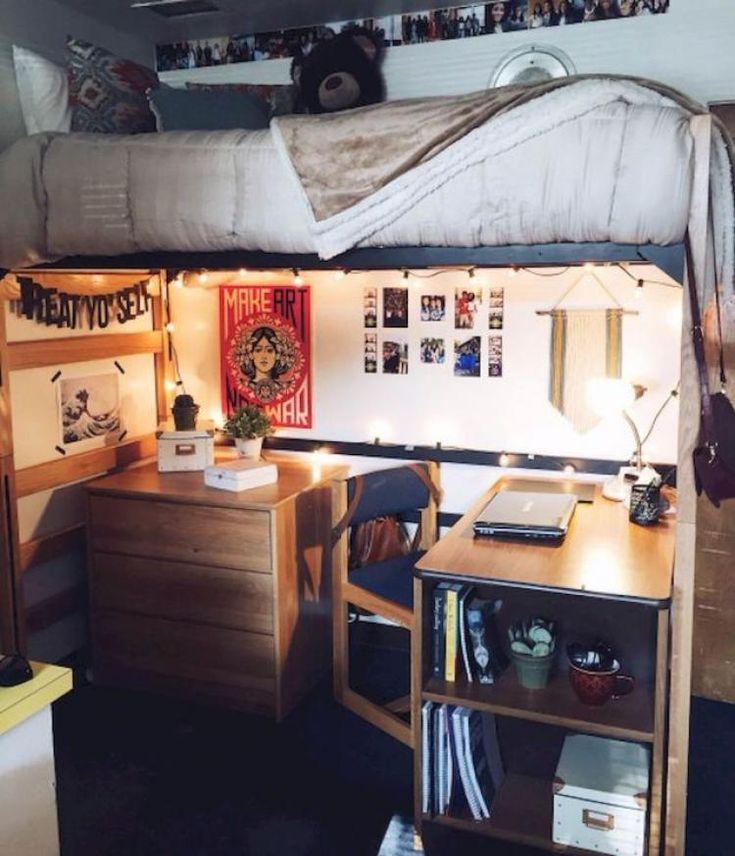 Ikea Raskog Cart, Small Minimalist Bedroom And Raskog