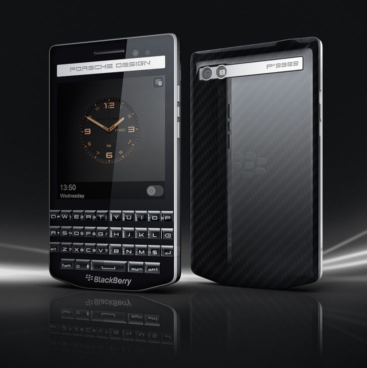 porsche design blackberry P'9983 smartphone reflects automotive style
