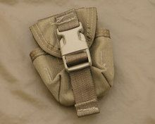NSN: 8465-01-558-5185 ($13.50, M67 Grenade Pouch, Coyote Tan, USMC FILBE Issue) - ArmyProperty.com