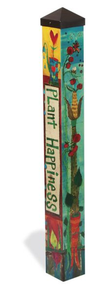 Wildly+Popular+new+item! -Art+Poles+are+state-of-the-art+reproductions+of+hand-painted,+hand-etched+wooden+poles.+The+artwork+is+laminated+onto+a+lightweight+PVC+pole+for+fade-resistance,+durability,+&+reduced+shipping+cost.+ -Long-lasting+and+maintenance+free.+ -Made+of+strong,+lightweight+PV...