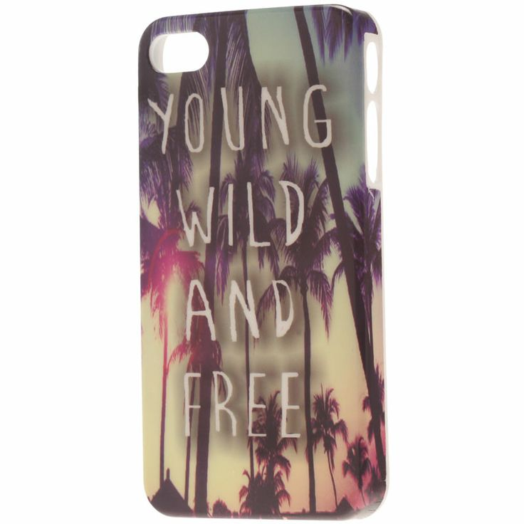 Mooloola Young & Wild Iphone 4 Case from City Beach Australia