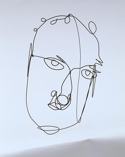 Alexander Calder self portrait