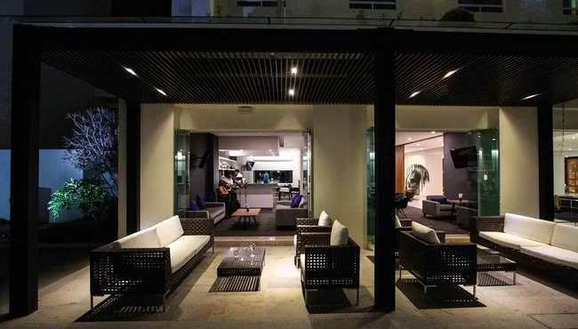 Mobiliario Contract de Exterior para Proyectos. Hotel Radisson en Leon Guanajuato. #TuEspacioLASDDI visita nuestra tienda online www.lasddi.com