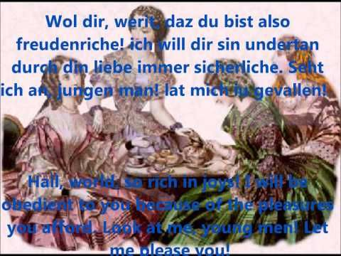 ▶ Carmina Burana (Orff) with lyrics and translations