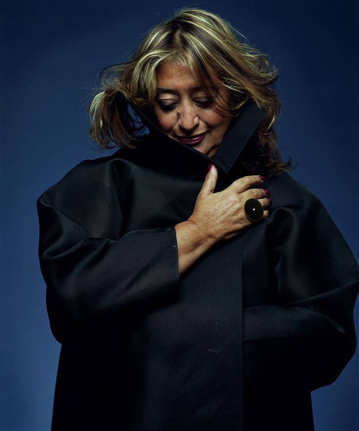 Zaha Hadid, 1950 – 2016                                                                                                                                                      Plus