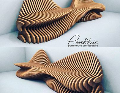 """Check out new work on my @Behance portfolio: """"Parametric bench"""" http://be.net/gallery/37273127/Parametric-bench"""