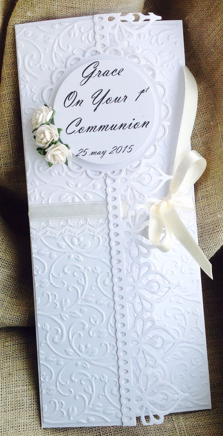 money card for 1st communion  cards handmade cards