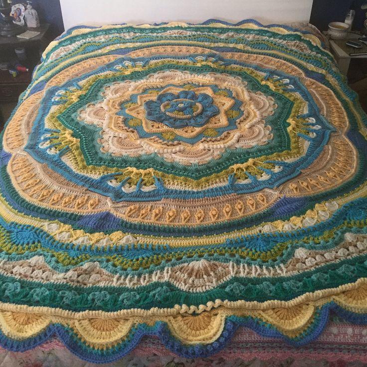 Beach Theme Blanket: 93 Best CAL- Crochet-a-longs Images On Pinterest