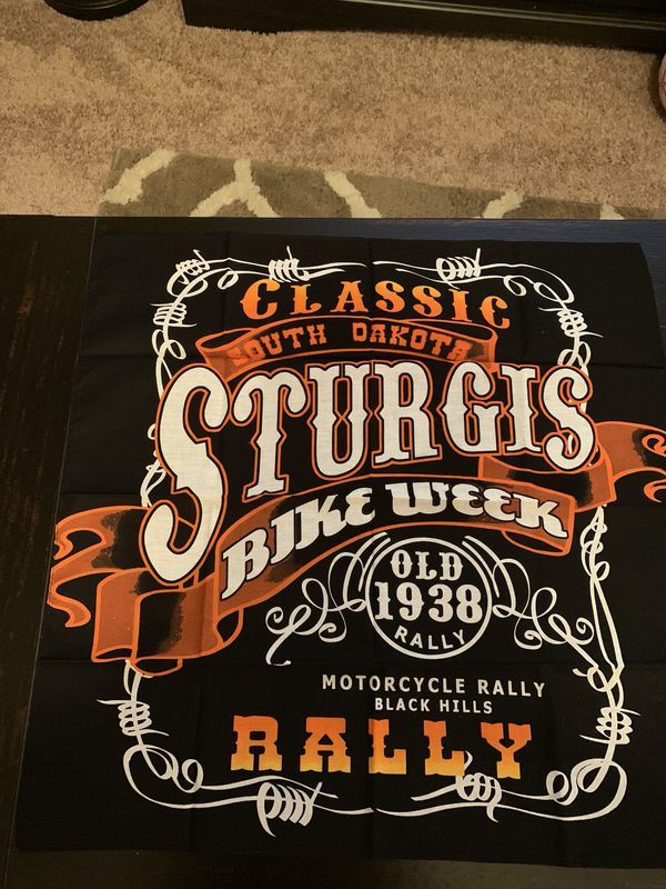 Sturgis 2015 Bike Week Distressed Tank by Wrecked Cotton Candy