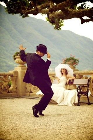 Dancing groom: Wedding Photography, German Wedding