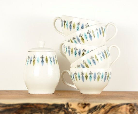 60s Nordic pattern by Syracuse China