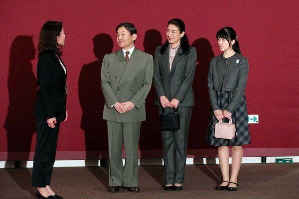 Наследная принцесса Японии Масако, наследный принц Японии Нарухито, принцесса Айко