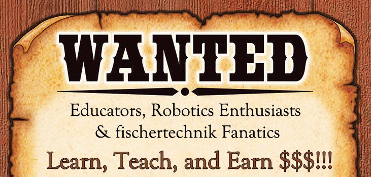 The fischertechnik Workshop Program is a great opportunity to Learn, Teach, and Earn $$$!!! Find out how you can get involved today.