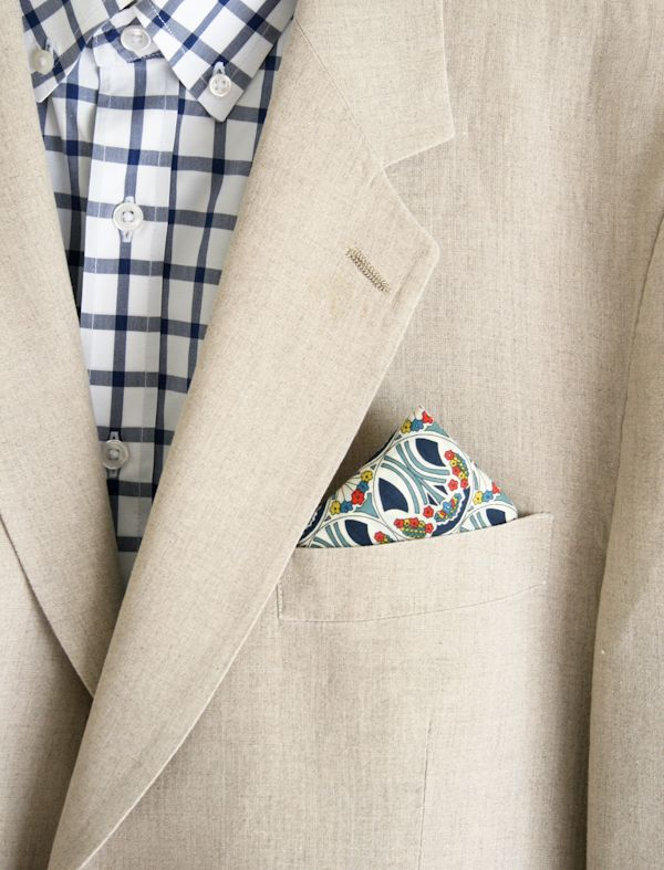 Every Dad needs at least one pocket square.