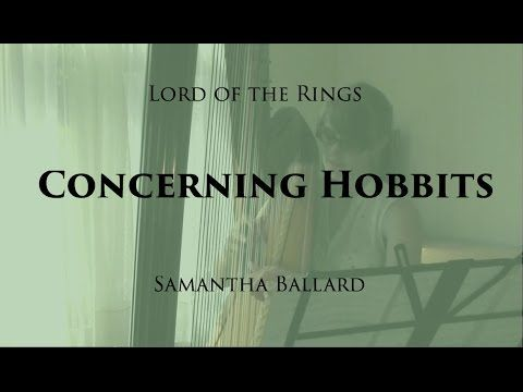 Concerning Hobbits (Lord of the Rings) - Harp Cover - YouTube