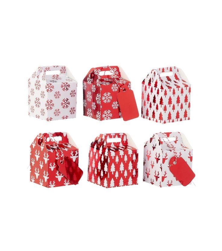 6-pack mini gift boxes