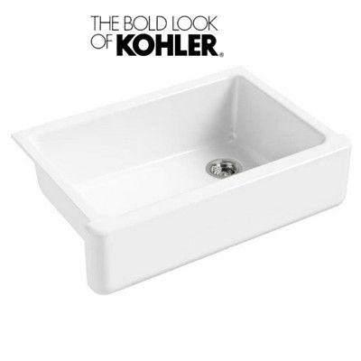 Kohler Whitehaven K-5827-0 33'' Farmhouse Sink