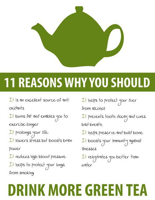 Green tea is good