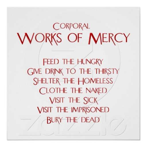 37 best images about Corporal Works of Mercy on Pinterest | Divine ...