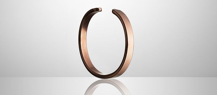 German Handcrafted Copper Cuff - Kaufmann Mercantile