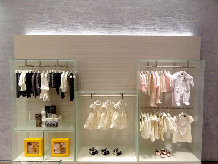 Window Display - VM - Store Interior - FENDI Kids store, Doha – Qatar