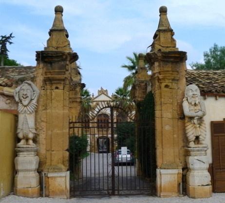 Villa Palagonia, Bagheria, Sicily.