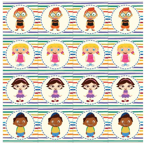Little Einsteins Cupcake Toppers Digital Printable by BeeswaxBuzz