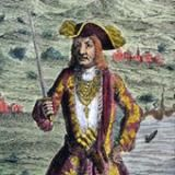 "Bartholomew ""Black Bart Roberts - Pirate and His Flag: Bartholomew ""Black Bart"" Roberts"
