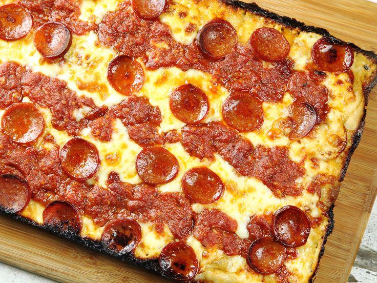 Detroit-Style Pan Pizza