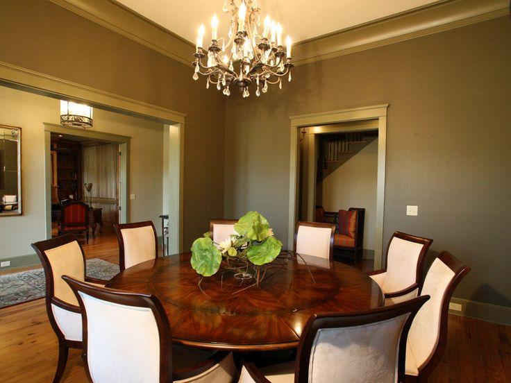 Amazing Round Dining Table   Plan 024S 0026 | Houseplansandmore.com #dining  #