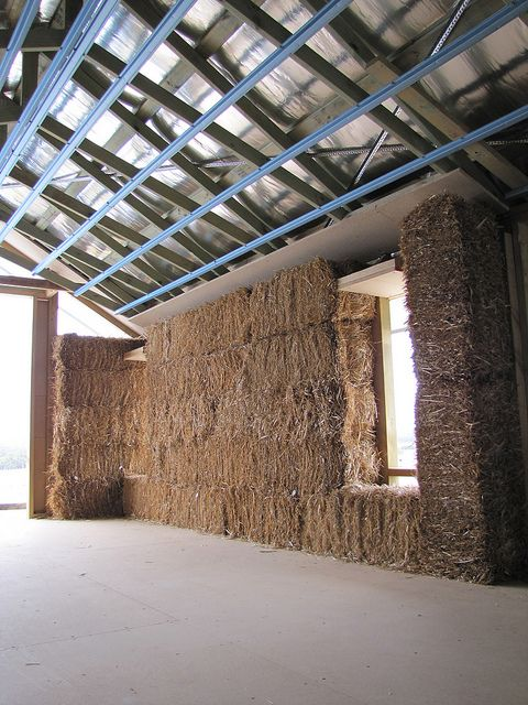 Building A Straw Bale House In Western Australia