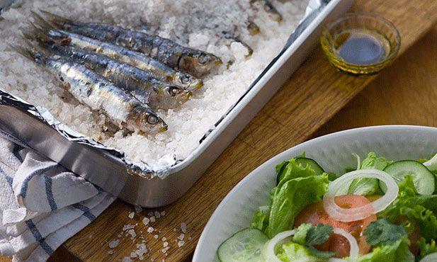 sardinhas ao sal