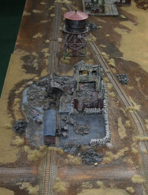 Flames of War   Bombed Railway Station - Flames of War - Felix's Gaming Pages