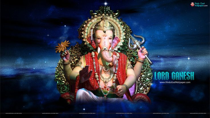 Ganpati Hd Wallpapers 1920x1080: 133 Best Lord Ganesha Wallpapers Images On Pinterest