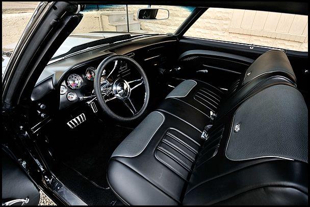 1971 Chevrolet Chevelle Custom Interior Auto Addiction Interiors Pinterest Chevrolet